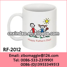 China Made 11oz Can Shape Daily Used Popular Ceramic High Quality Coffee Mug for Daddy