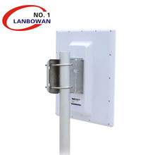 2.4GHz band Long-Range Wireless Outdoor AP/Client Bridge with a high-gain 20 dBi for 10km