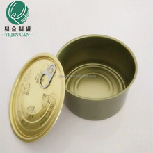 Hot sale tin can for food canning, 307 standard size, round can for canning tuna