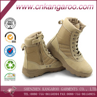 Anti-wear Rubber Sole Genuine Leather Mens Boots
