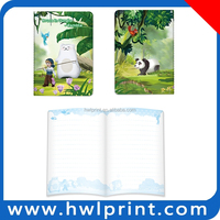 school notebook paper / custom print exercise book