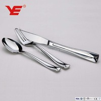 20pcs / 72pcs /84pcs stainless steel portable cutlery and flatware set for wedding gift and kitchen