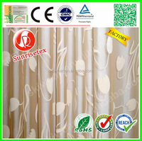 High quality jacquard cheap cotton curtain fabric factory
