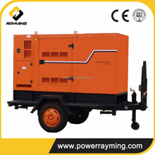 Camping Way Trailer Mobile 35kw Diesel Genset For Selling