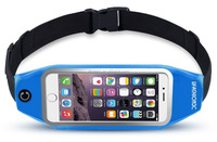 [2017 new trend]Running Belt Waist Pack with Zipper for iPhone 7plus/6 Plus, 6S Plus with pocket Waterproof Case -9 Colors