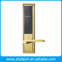 Digital hotel door lock french door locking systems