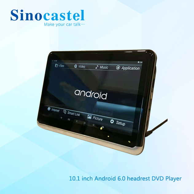 10 Inch Android 6.0 SD USB WIFI Bluetooth Car DVD Headrest Monitor