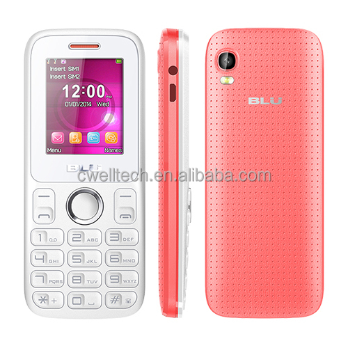 Original BLU ZOEY II T276 1.8 Inch TFT Display Dual SIM Card Unlocked GSM China Cheap Cell Phone
