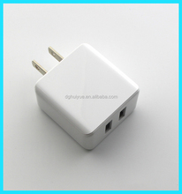 china factory multiple usb wall charger 5V 3.1A