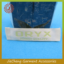 Wholesale garment woven label / clothing tag / neck labels
