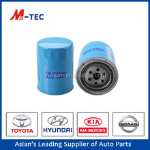 Hot sale car accessories parts oil filter 15208-43G00 uesd for Pickup