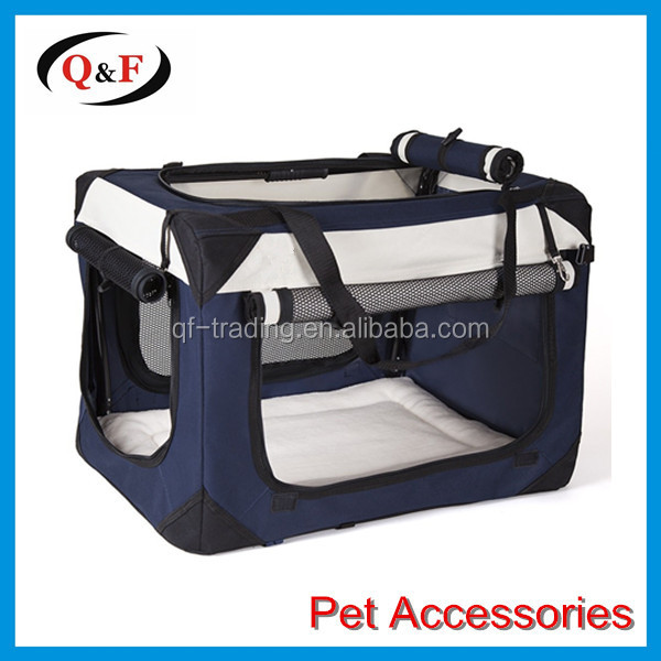 Deluxe Cheap Folding fabric Soft Dog Crate for indoor, travel, training