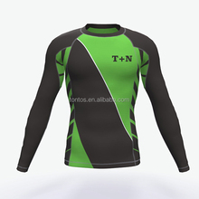 wholesale customized spandex youth compression shirts