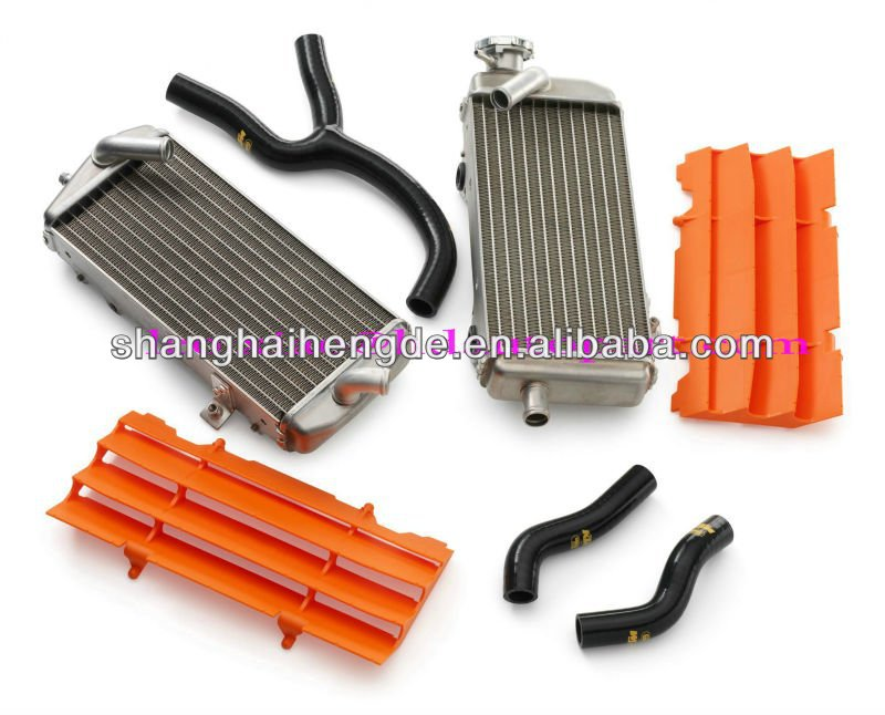 motorcycle aluminum radiator for KAWASAKI KX250 1988-1989