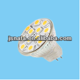 12V LED GU4 MR11 5050SMD Warm White/White