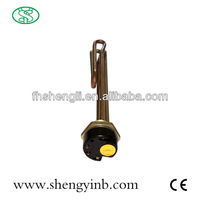 u type tubular electric water heater with thermostat in tube paking