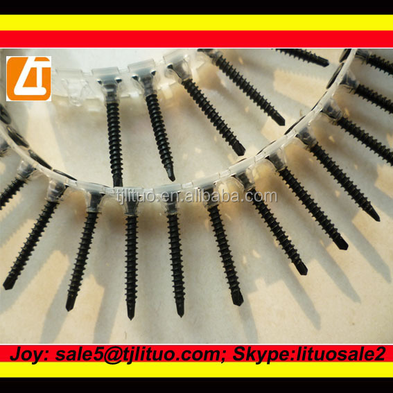 <strong>C1022A</strong> Black Phosphated Collated <strong>Drywall</strong> <strong>Screws</strong>