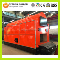 China Best Quality 5000kg/h Cotton Seed Hulls fired Steam Boiler