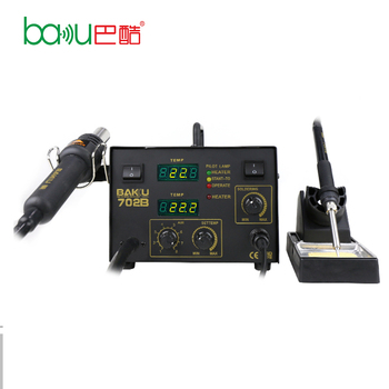 BK-702B Hot Sale New Products Promotion SMD Digital 2 in 1 Bga Rework Station With Hot Air Soldering Station