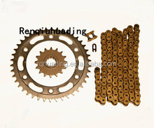 High Performance motorcycle chain sprocket kit;roller chain sprockets