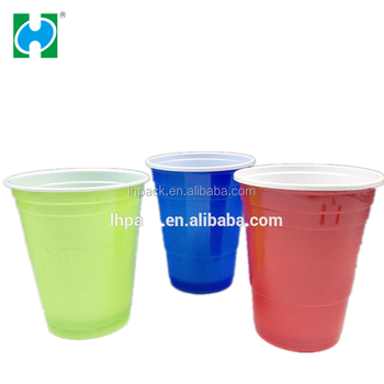2016 Hot Sale Wholesale Custom Plastic Cup Disposable 16oz Plastic Cups,Small cups