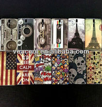 New Plastic Hard Back Phone Case Cover Skin for Sony Ericsson Xperia S Arc HD LT26i Nozomi