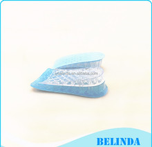 Silicone Height Increase Insoles adjust a lift shoe inserts , Height lift shoe pad