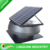 Solar powered roof mount solar exhaust vent