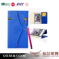 Humanized hot selling Wallet Case for iPhone 6s plus