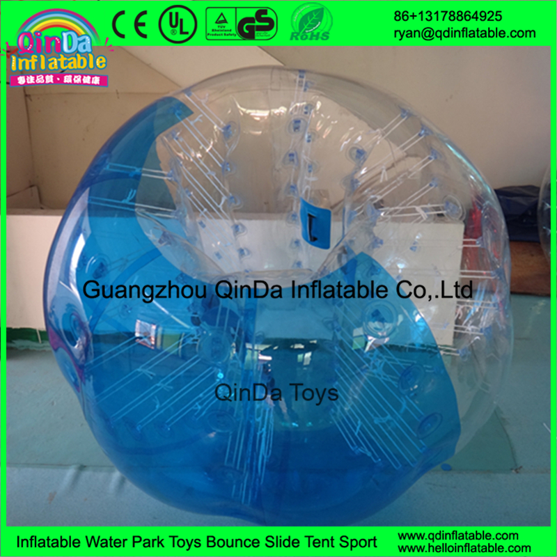 Inflatable Park Used Outdoor Team Sports Funny Adlut Body Bumper Zorb Ball For Sale