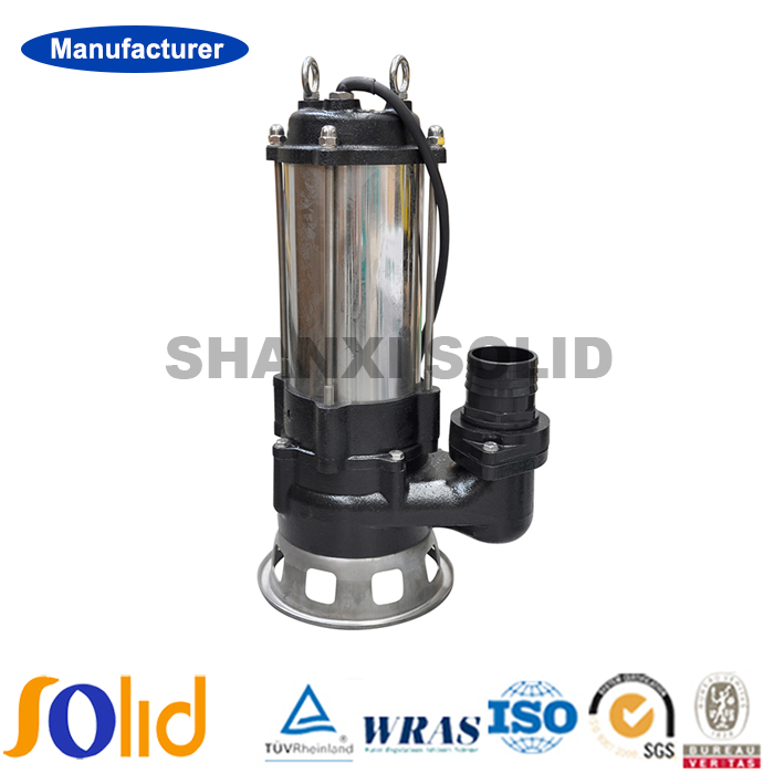 Stainless steel deep well submersible dirty water sewage pump