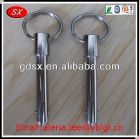ISO9001:2008 Passed stainless steel ball lock pins,screw lock pins,custom auto lock pin