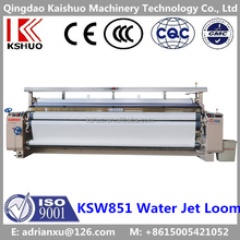2016 KSHUO CHINA 871 MODEL HIGH SPEED WATER JET LOOM PRICE 190CM DOUBLE NOZZLES DOBBY SHEDDING ETU&ELO