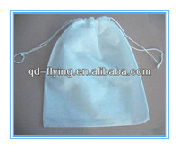 Free promtional gift custom shopping 80gsm non woven fabric drawstring bags
