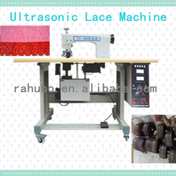 ultrasonic lace sewing machine Ultrasonic sewing machine shoe lace making machine
