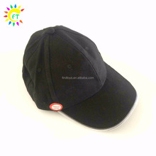 LED Lighted Glow Club Party Sports Athletic Black Fabric Travel BaseBall Hat
