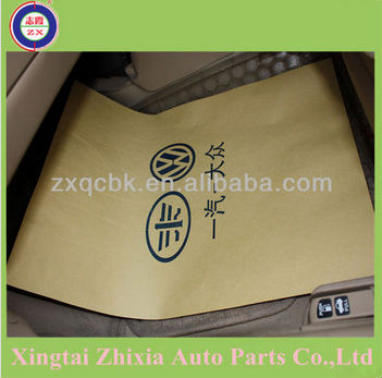 Hot!! ZHIXIA supply PE disposable car seat cover/full set disposable car seat cover/steering wheel cover