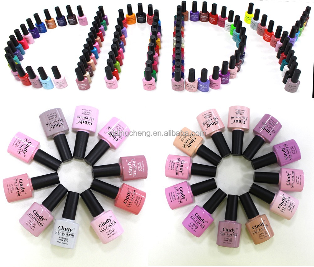 Hot Sale CINDY Fashion French Style Super Color LED Gel Polish