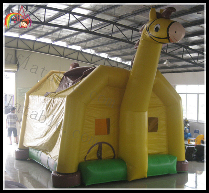 Inflatable Party Jumper Bounce Horse House Bouncer Slide Jumper Toy