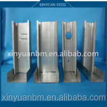 China supplier building materials Steel channel/Drywall metal studs and tracks