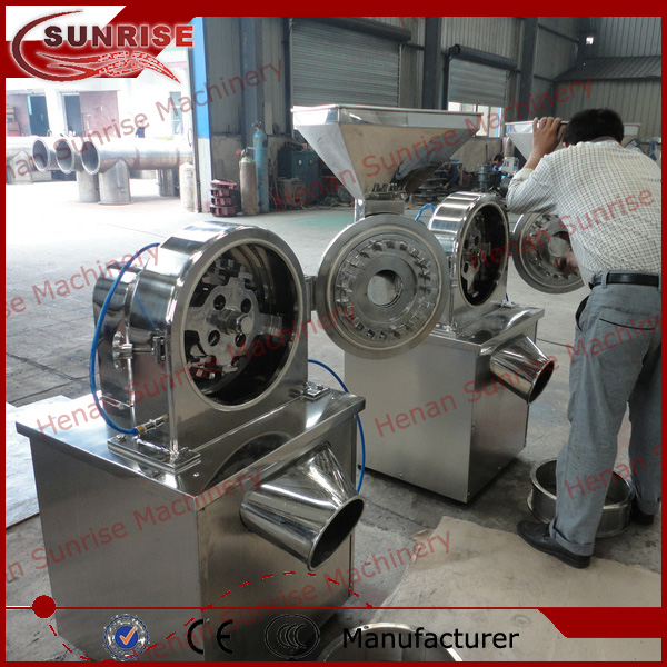 factory price ginger powder processing machine