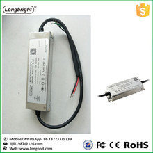 Longbright metal case waterproof 60w led driver 50w 1500ma