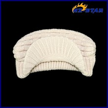 HZM-12110006 Hot custom wholesale bobble cheap basketball women funny knitted hat scarf