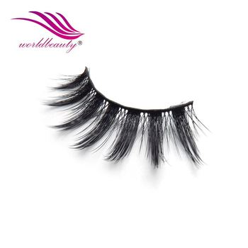 Hand Tied 3d Silk Synthetic Eyelashes Strips