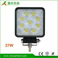 Off Road Led Light outdoor portable 12v 27w led work light for car part