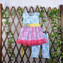 summer boutique girl clothing cute cheap kid clothes for wholesale