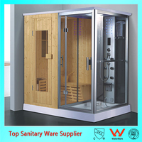 good quality best price shower steam room with lcd tv