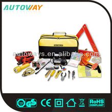 52pcs car emergency tool kit with air compressor/car repair tool kits