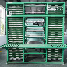 2017 Super September Chicken Cages Manufacturers Sale H-type Automatic Chicken Battery Breeding Cage