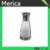 304stainless steel lid bottle, glass cruet,condiment shaker